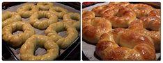 Colacei dulci copti Bagel, Bread, Food, Brot, Essen, Baking, Meals, Breads, Buns