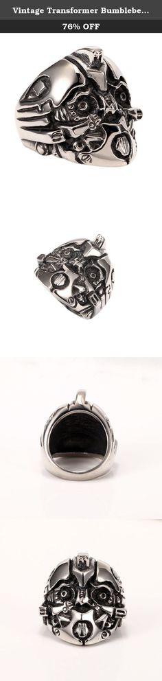 Vintage Transformer Bumblebee Mens Boys Stainless Steel Biker Ring Size 7-13. Why choose Stainless Steel Jewelry? Stainless Steel jewelry does not tarnish and oxidize, which can last longer than other jewelries. It is able to endure a lot of wear and tear. And it is amazingly hypoallergenic. Such advantages make it a more popular accessory. Shopping Notes: 1. Currently all of our items are sent from China, which usually 7-15 business days. Tracking number is provided with, please check…