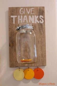 15 Thanksgiving Activities to Teach Kids to Be Thankful | Love the idea of a Thank You Bank