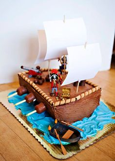 Pastel Pirata