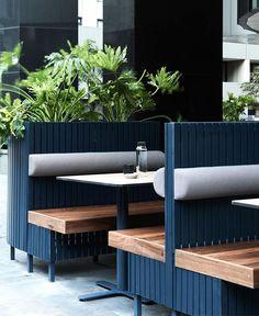 Trendy and Friendly Restaurant Decor by Biasol - InteriorZine