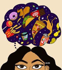 La vie en illustrations : Le 6 mai c'est NO DAY DIET  #Junkfood #Galaxy #Hamburger