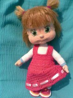 Image gallery – Page 308567011965416557 – Artofit Amigurumi Patterns, Amigurumi Doll, Doll Patterns, Crochet Doll Pattern, Hand Crochet, Crochet Patterns, Pretty Dolls, Beautiful Dolls, Crochet Animals