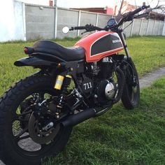Honda CB450 DX Tracker