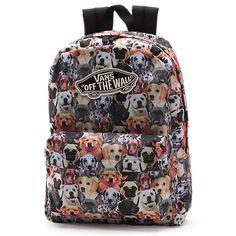 6787e72c3e Vans x ASPCA Realm Backpack Vans Backpack Girls
