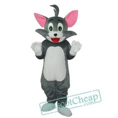 2nd Version Tom Cat Mascot Adult Costume Free Shipping Costumes For Sale, Adult Costumes, Cartoon Mascot Costumes, Bloodhound Dogs, Tiger Costume, Eagle Mascot, Goofy Dog, Bulldog Mascot, Pink Rabbit