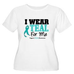 I Wear Teal For Me Women's Plus Size Scoop Neck T- > I Wear Teal For Me PCOS Shirts & Gifts > Gifts 4 Awareness T-Shirt & Gift Shop