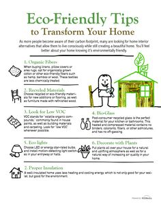 Pick one, ideally pick them all!  Easy ways to start your brand new eco friendly life at home...  http://gailcorcoran.realtor