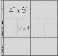 """JAK NA FOTKY DO KAPES 3""""x 4""""    Dnešní příspěvek do seriálu PROJECT LIFE day bude lehce technický :)  Při tvoření PL alba většina z nás používá kapsy, které jsou rozděleny na políčka o velikostech 4"""" x 6"""" (cca 10 x 15 cm) a 3"""" x 4"""" (cca 5 x 7,5 cm).        V originálním pojetí Project life alba je vše jednoduché - do velkých kapes patří fotografie o velikosti 10 x 15 cm a do malých kapes kartičky na journaling. Co když chceme ale dát fotografie i do malých kapsiček"""