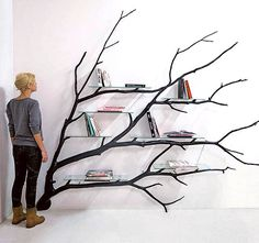 "Old work, someone published it and now it's ""trending"". ""Bilbao"" the Tree Shelf. Thank you internet for the support"