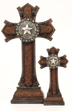 Western Decor Western Moments Table Top Western Crosses