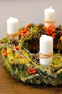 advent wreath, wreath making