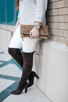 Walking in Memphis in High Heels: How to Wear Winter White Jeans