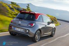 New Opel Adam S 150 CV rear right quarter view 2015 Automoveis-Online