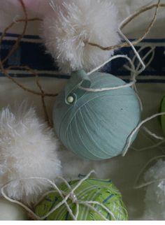Jane Cumberbatch`s Pure Style Christmas Balls, Christmas Stuff, Christmas Holidays, Christmas Crafts, Christmas Decorations, Xmas, Yule, Handmade Christmas, Winter Wonderland