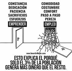 Emprender vs Empleo