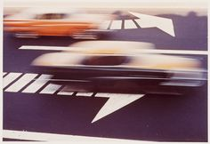 Ernst Haas purchased a Leica in 1949 and began experimenting with color photography—the medium in which his work is best known.   Ernst Haas, Traffic, 1964