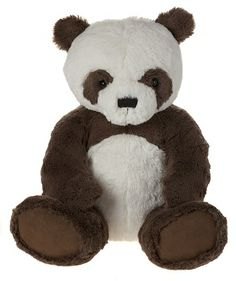 My First Panda Bear, Brown-MFPB14LBN  14 Inches created in plush, jointed  Machine Washable Suitable For All Ages