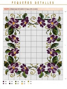 1 million+ Stunning Free Images to Use Anywhere Cute Cross Stitch, Cross Stitch Borders, Cross Stitch Flowers, Cross Stitch Charts, Cross Stitch Designs, Cross Stitching, Cross Stitch Embroidery, Cross Stitch Patterns, Violets