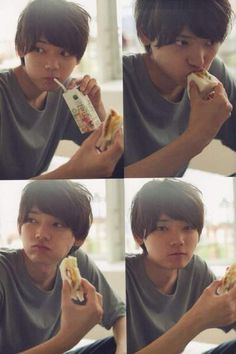When your photoshoot is at but snack time is at 10 Japanese Drama, Japanese Boy, Handsome Actors, Cute Actors, Asian Actors, Korean Actors, Love In Tokyo, Yuki Furukawa, Good Morning Call