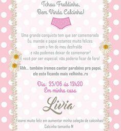 Chá de desfralde  mãe organiza festa para comemorar conquista da filha 7798b8326d3