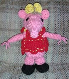 Knitting Pattern For Clangers : Clangers on Pinterest Knitting Patterns, Youth and Childhood
