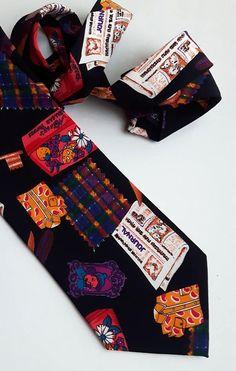 Vintage Angelo Litrico Silk Tie