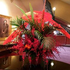 Happy Chinese New Year!  Here's to the year of the Goat. #chinesenewyearflowers #orientalflowers #flairflowersanddesign #redflowers