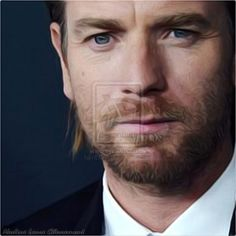 Portrait Sublime Ewan Mcgregor Nadine Laure by NLCARTS.deviantart.com on @DeviantArt