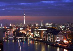 Berlin by night.
