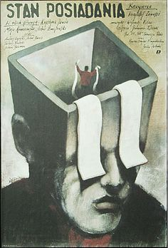 Polish movie poster: Stan posiadania  Inventory  Andrzej Pagowski,