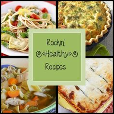 Rockin' Healthy Recipes