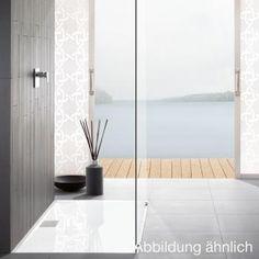 Villeroy & Boch Architectura MetalRim Duschwanne, superflach Randhöhe 1,5 cm anthrazit matt