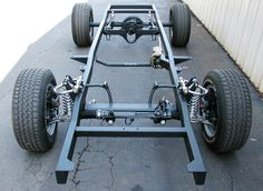 Complete Ford & Chevy Truck Chassis with Upgrade Options - Fatman Fabrications 1956 Ford Truck, Ford Trucks, Old Classic Cars, Classic Trucks, Ford Mustang Shelby, Kart Cross, Homemade Go Kart, Ford Bronco, Kit Cars