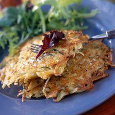 Découvrez la recette Paillassons de pommes de terre sur cuisineactuelle.fr.