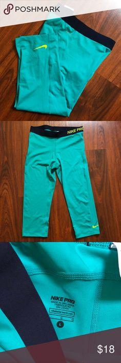 Nike Pro leggings Nike Pro workout leggings. Never worn without tags Nike Pants Leggings