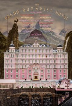 Wes Anderson's The Grand Budapest Hotel with Bill Murray, Edward Norton, and Ralph Fiennes 2014 - Grand Budapest Hotel Film, Wes Anderson Poster, Wes Anderson Movies, Edward Norton, Tilda Swinton, Britney Spears, Monet, New Yorker, Lobby Boy