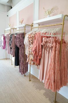 Boutique Decor, Boutique Design, Miami Outfits, Store Fronts, Luxury Bedding, Wardrobe Rack, Showroom, New Homes, Ivory