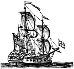spanish galleon sailing ship drawing how to draw