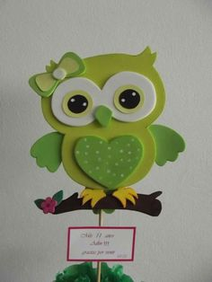 Sweet Pink Cartoon Owl x 5 Flat Cards Owl Crafts, Preschool Crafts, Diy And Crafts, Crafts For Kids, Arts And Crafts, Paper Crafts, Diy Y Manualidades, Felt Owls, Owl Patterns