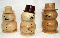 Image result for turned christmas tree ornaments