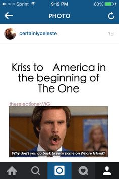 #TheSelection #AmericaSinger #KrissAmbers  Yeah, that dress was too much, but America is sooo far from a whore!