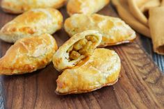 Farm to Table Asian Secrets Cookbook Review and Curried Vegetable Turnovers - Tara's Multicultural Table Savoury Pastry Recipe, Savoury Baking, Pastry Recipes, Great Recipes, Snack Recipes, Cooking Recipes, Healthy Recipes, Snacks, Savoury Recipes