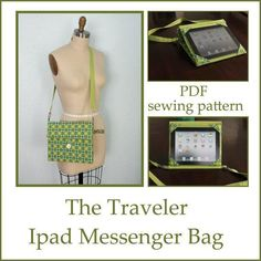 Ipad messenger case and stand pdf sewing