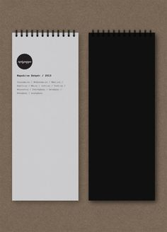 Corporate Identity by Anna Trympali, via Behance