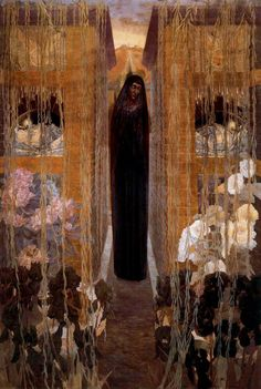 Carlos Schwabe – was a German Symbolist painter and printmaker. After studying art in Geneva, he relocated to Paris as a young m. Gustav Klimt, Illustrations, Illustration Art, Art Nouveau, Pre Raphaelite, Oil Painting Reproductions, William Morris, Dark Art, Contemporary Artists