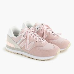 New Balance 574 Sneakers Jeans And Sneakers Outfit, Girls Sneakers, Sneakers Fashion, Blue Sneakers, Shoes Sneakers, Summer Sneakers, Fashion Shoes, Women's Shoes, Look Com Tenis
