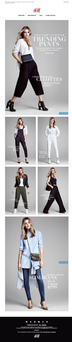 H&M | | newsletter | fashion email | fashion design | email | email marketing | email inspiration | e-mail