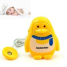 1pcs Adult Baby Sensor Wet Reminder Bedwetting Enuresis Toddler Baby Diaper Bed Wetting Alarm cute Wet Reminder