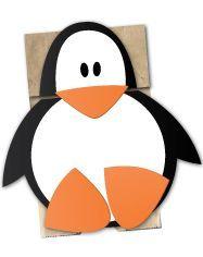 Penguin Paper Bag Puppet | Craft for Kids